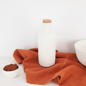 Bottle and Cork Stopper, Handcrafted ceramics made in Barcelona.