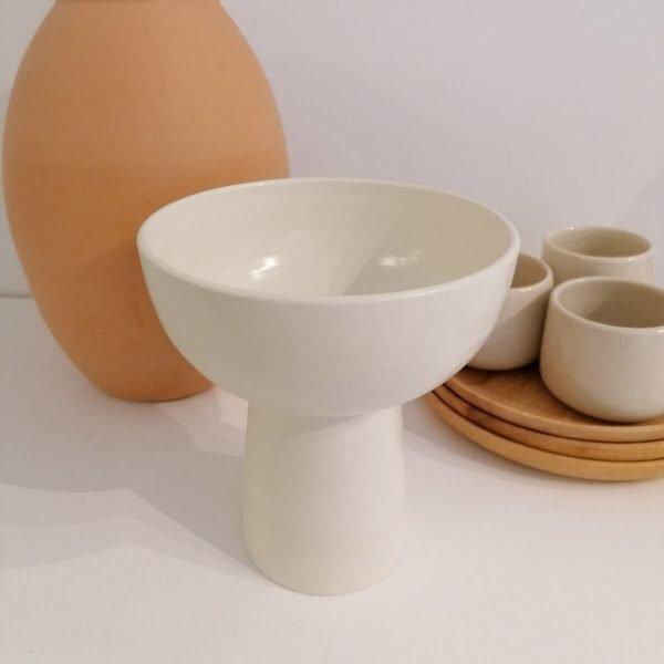 Chalice Vase, 15Ø Organic Handcrafted Tableware · Shop Online