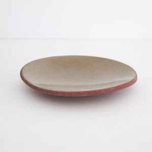 mini side plate with olive finish
