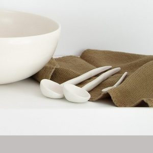 Large Serving Spoon, 27cm Organic Handcrafted Tableware · Shop Online