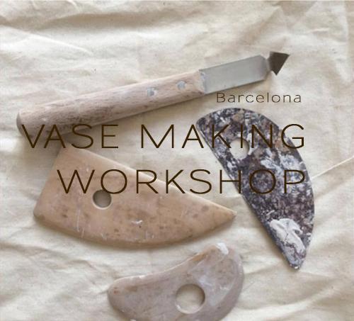 Vase making workshop Barcelona