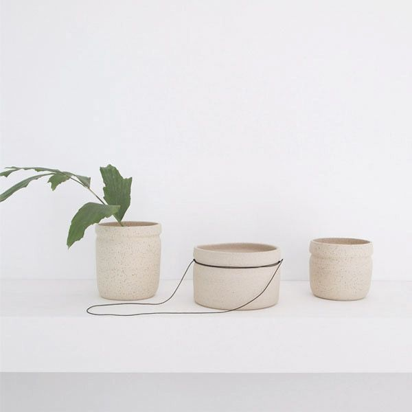 Handcrafted vases and planters by Working in the RedWoods